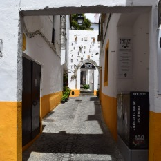 Évora streets