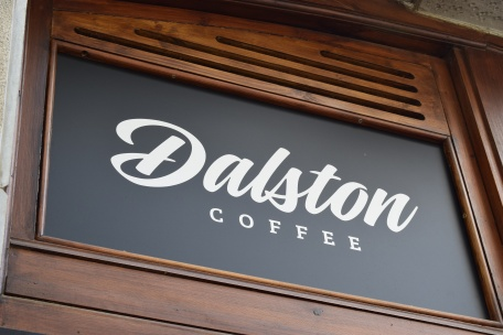 Dalston Coffee entrance