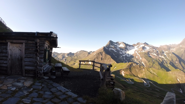 Our hut in Edelweiss