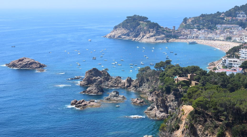 Tossa de Mar: Postcards from the Costa Brava | Mapping The Map