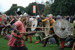 Viking battle in Dublin